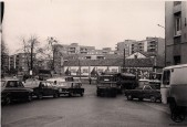 Calle Eugenia de Montijo a la altura de la Plaza del Parterre (finales de los años 70)