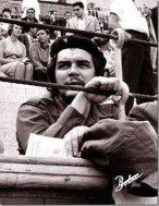 El Che Guevara en la Plaza de Vistalegre