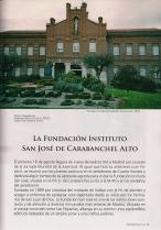 La Fundación Instituo San José de Carabanchel Alto (Madrid Histórico, Julio 2011)