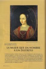 La Latina, la mujer que da nombre a un distrito