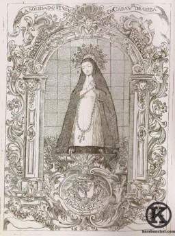 La Soledad se venera en Caravel de Arriba