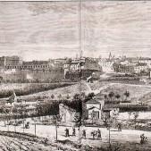Perfil de Madrid y Quinta del Sordo (1865)