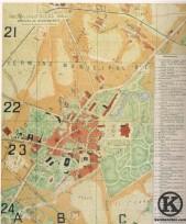 Plano 1 de Carabanchel Bajo de 1902 (Facundo Cañadas)