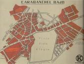Plano de Carabanchel Bajo en 1958 (Biblioteca Nacional)