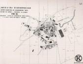 Plano de la Villa de Carabanchel Bajo (2ª mitad del s. XIX)