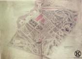 Plano topográfico de la Real Posesión de Vista Alegre (1845)