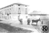 Antiguas tenerías, en el Camino Viejo de San Isidro, actual Paseo de San Illán (1900)