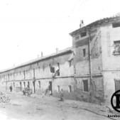 Antiguas tenerías, en el Camino Viejo de San Isidro, junto al Puente de Toledo, actual Paseo de San Illán (1900)
