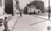 Calle de Carabanchel tras la Guerra Civil (1)