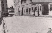 Calle de Carabanchel tras la Guerra Civil