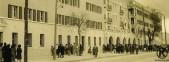 Calle General Ricardos 206-2014. Entrega de llaves de los pisos construidos por la Dirección General de Regiones Devastadas (1944)