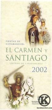 Cartel de las Fiesta de Carabanchel (2002)