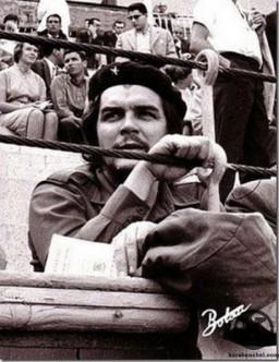 Che Guevara en la Plaza de Vistalegre
