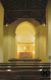 Interior de la ermita de Ntra. Sra. de la Antigua antes de la instalación del retablo
