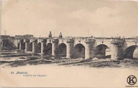 Postal Puente de Toledo 3  (principios s. XX)