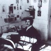 Preso en su celda de la cárcel de Carabanchel (1975)