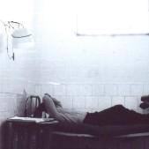 Preso en una celda de la cárcel de Carabanchel (1975)