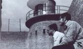 Presos en el patio de la cárcel de Carabanchel (1976)