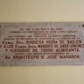 Placa del hall