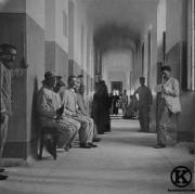 Soldados de la guerra de Cuba en el asilo de San José