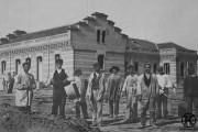 Trabajadores en el  asilo de San José