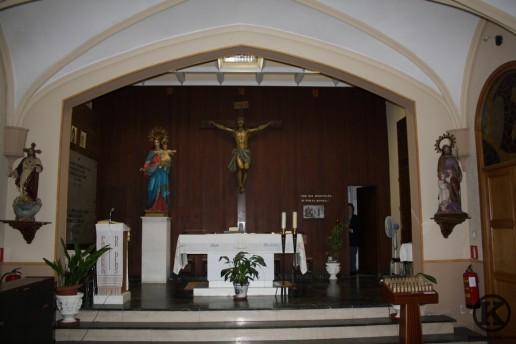 Altar mayor de la Capilla de los Salesianos