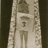 Antigua fotografía del cuerpo incorrupto de San Isidro