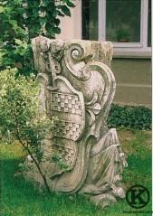 Antiguo escudo de la Quinta de Manuel Matheu