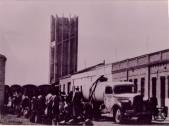 Calle Mercedes Rodriguez y el depósito de agua (años 50)