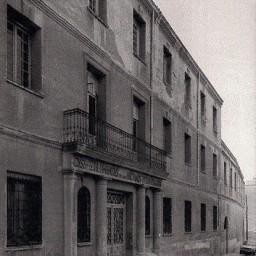 Casa Asilo de Ancianos Desamparados en la C Santa Teresa Jornet (2º tercio del s. XX)