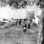 Construcción del depósito de agua de Carabanchel (años 50)