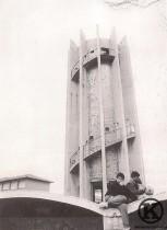 Depósito de agua de Carabanchel Alto, inaugurado en 1959 (años 80)