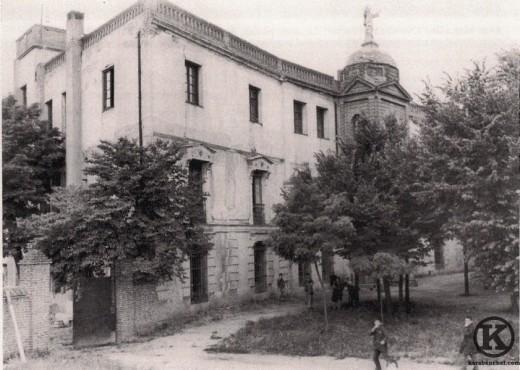 Fachada del palecete de la Quinta de Belgida, actual colegio Salesianos(principios del s. XX)
