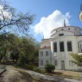 Fachada posterior del Palacio Larrinaga o de Godoy