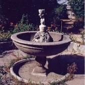 Fuente de la Quinta de las Delicias Cubanas, actual Villa San Pablo