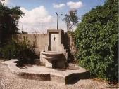 Fuente de piedra de la Quinta de las Delicias Cubanas, actual Villa San Pablo