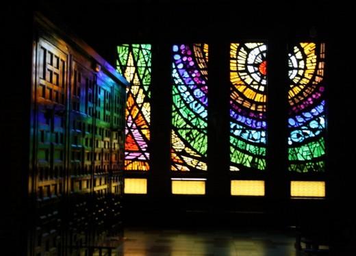 Interior de la Iglesia de San Pedro