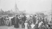 La ermita del santo, en una antiquísima foto de archivo de comienzos de siglo (Archivo ABC)