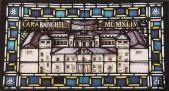 Vidriera interior del Palacio Larrinaga o de Godoy