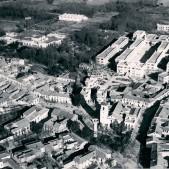 Vista aérea de la Plaza de Carabanchel y finca de Vista Alegre (febrero de 1935)