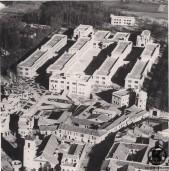 Vista aérea del Colegio de huérfanos de la Policia Nacional (1935)