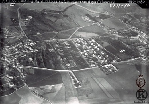 Vista aérea de la Colonia de la  Prensa