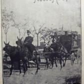 Coche del Hospital Militar en la portada del diario Nuevo Mundo