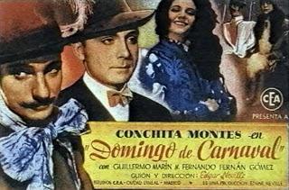 domingo de carnaval - neville - 1945 cartel