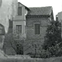 Fachada lateral Villa San Miguel (de la película La Busca de 1966)