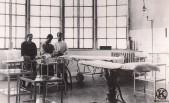 Sala de operaciones del Hospital Militar (principios del s. XX)
