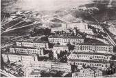 Vista aérea del Hospital Militar (principios del s. XX)