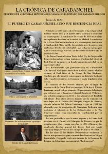 Carabanchel Alto fue residencia real 1834