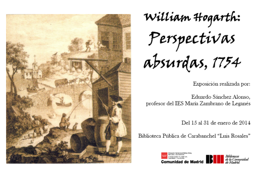 William Hogartg, Perspectivas absurdas, 1754
