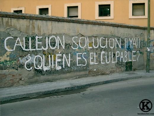 Callejón Polvoranca